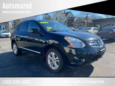 2013 Nissan Rogue for sale at Automazed in Attleboro MA