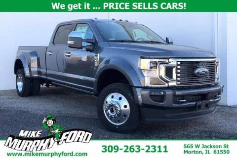 2021 Ford F-450 Super Duty for sale at Mike Murphy Ford in Morton IL