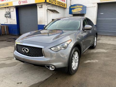 2017 Infiniti QX70 for sale at US Auto Network in Staten Island NY