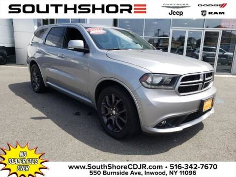 2017 Dodge Durango for sale at South Shore Chrysler Dodge Jeep Ram in Inwood NY