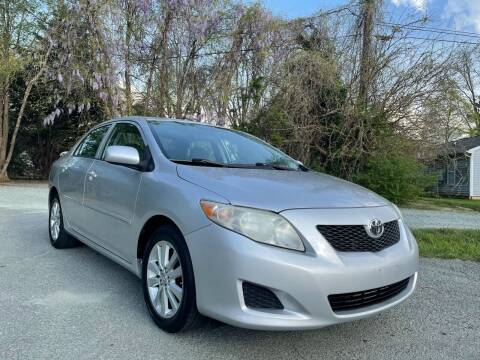 2010 Toyota Corolla for sale at Pristine AutoPlex in Burlington NC