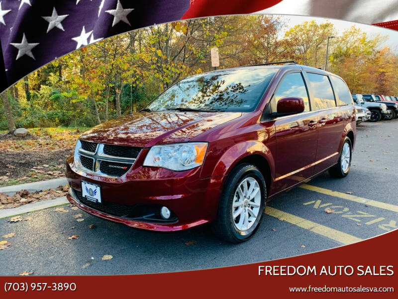 2019 Dodge Grand Caravan for sale at Freedom Auto Sales in Chantilly VA
