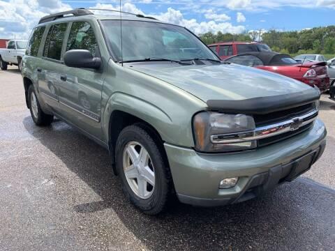 2002 Chevrolet TrailBlazer for sale at 51 Auto Sales Ltd in Portage WI