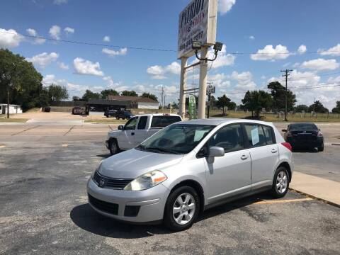 2008 Nissan Versa for sale at Patriot Auto Sales in Lawton OK