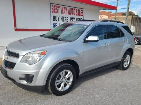 2013 Chevrolet Equinox for sale at Best Way Auto Sales II in Houston TX