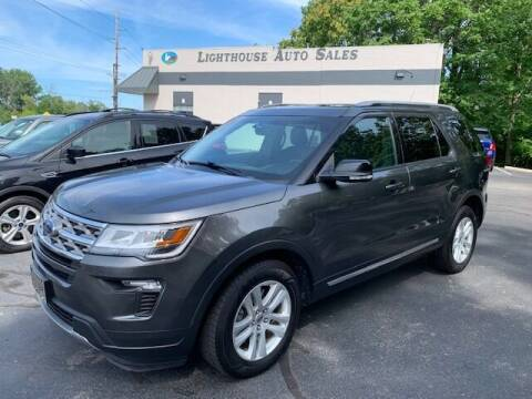 2018 Ford Explorer for sale at Lighthouse Auto Sales in Holland MI