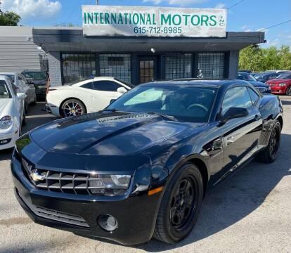 2013 Chevrolet Camaro for sale at International Motors Inc. in Nashville TN