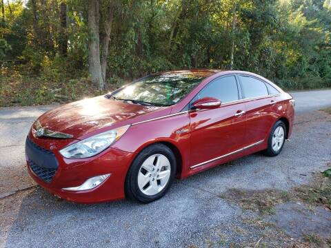 2012 Hyundai Sonata Hybrid for sale at GA Auto IMPORTS  LLC in Buford GA