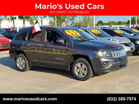 2017 Jeep Compass for sale at Mario's Used Cars in Houston TX