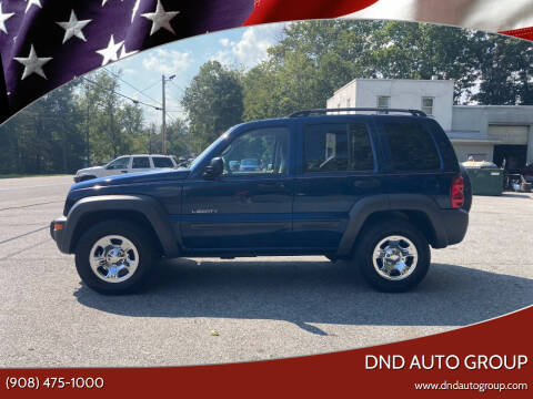 2004 Jeep Liberty for sale at DND AUTO GROUP in Belvidere NJ