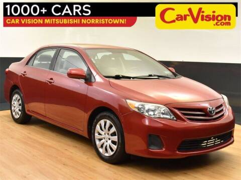 2013 Toyota Corolla for sale at Car Vision Buying Center in Norristown PA