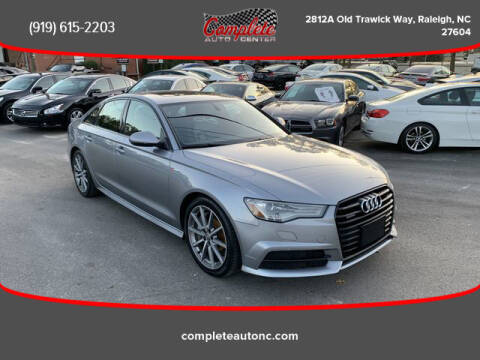 2016 Audi A6 for sale at Complete Auto Center , Inc in Raleigh NC