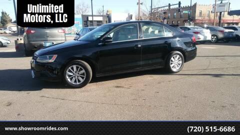 2014 Volkswagen Jetta for sale at Unlimited Motors, LLC in Denver CO