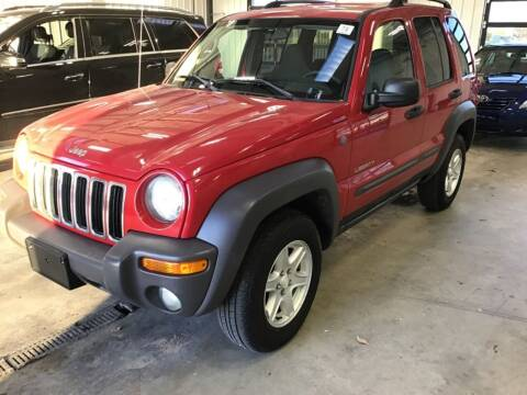 2004 Jeep Liberty for sale at Government Fleet Sales in Kansas City MO