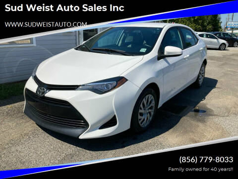 2017 Toyota Corolla for sale at Sud Weist Auto Sales Inc in Maple Shade NJ