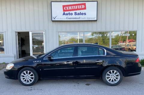 2009 Buick Lucerne for sale at Certified Auto Sales in Des Moines IA