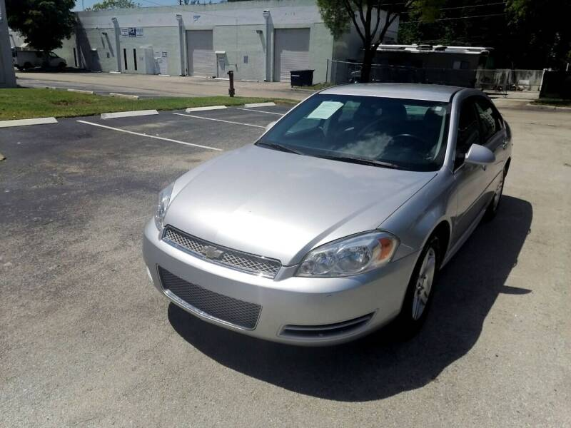 2012 Chevrolet Impala for sale at Best Price Car Dealer in Hallandale Beach FL