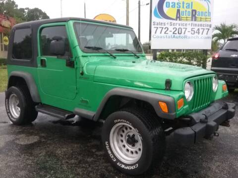 2004 Jeep Wrangler for sale at Coastal Auto Ranch, Inc. in Port Saint Lucie FL