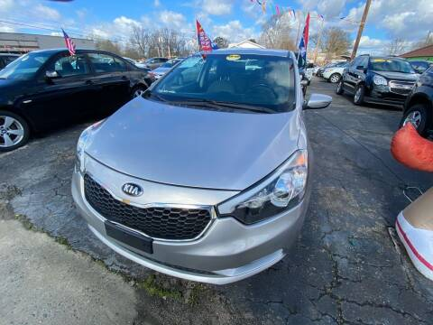 2014 Kia Forte for sale at L&M Auto Import in Gastonia NC