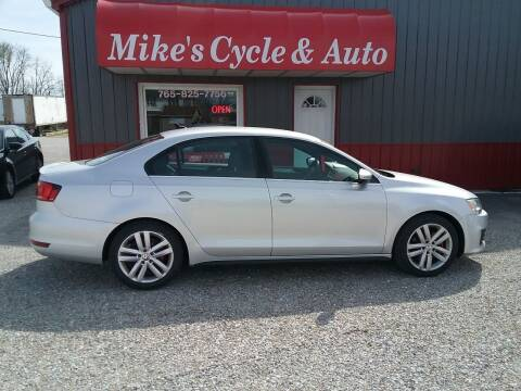 2014 Volkswagen Jetta for sale at MIKE'S CYCLE & AUTO in Connersville IN
