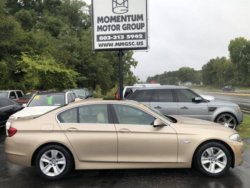 2012 BMW 5 Series for sale at Momentum Motor Group in Lancaster SC
