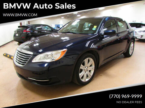 2013 Chrysler 200 for sale at BMVW Auto Sales in Union City GA