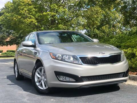 2013 Kia Optima for sale at William D Auto Sales in Norcross GA
