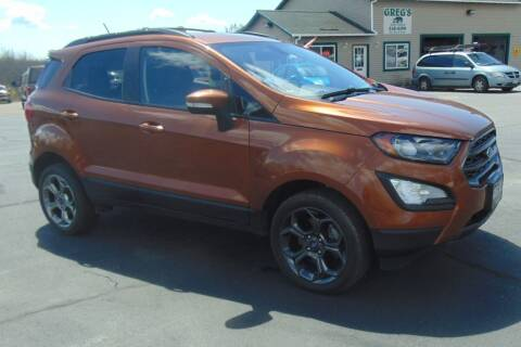 2018 Ford EcoSport for sale at Greg's Auto Sales in Searsport ME