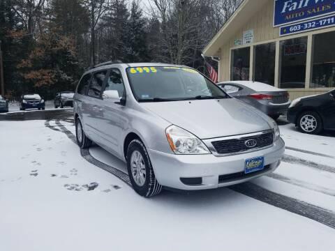 2012 Kia Sedona for sale at Fairway Auto Sales in Rochester NH