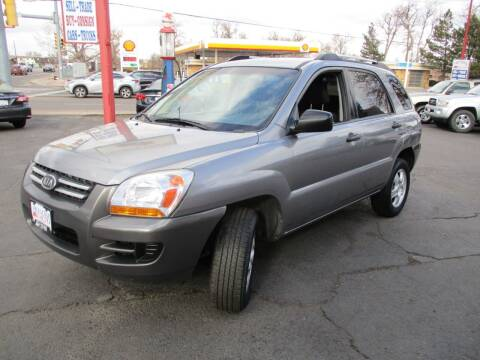 2008 Kia Sportage for sale at Premier Auto in Wheat Ridge CO