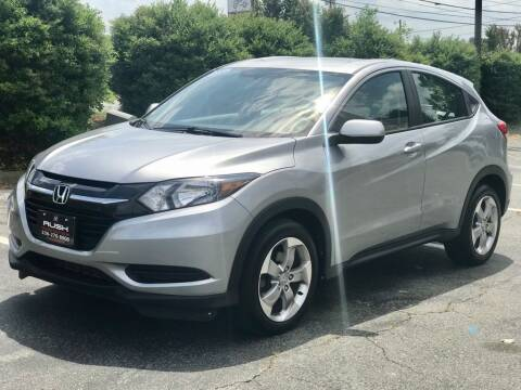 2017 Honda HR-V for sale at RUSH AUTO SALES in Burlington NC