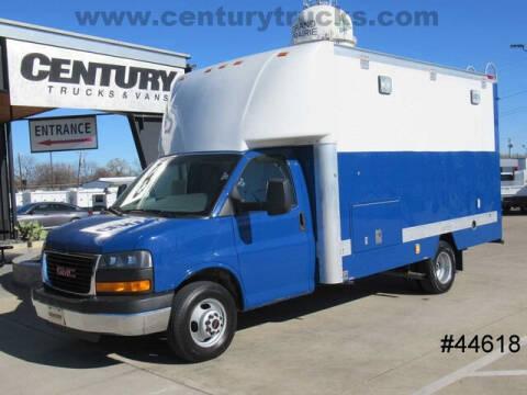 2011 GMC Savana Cutaway for sale at CENTURY TRUCKS & VANS in Grand Prairie TX