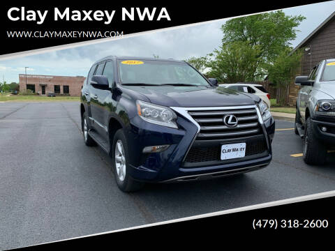 2017 Lexus GX 460 for sale at Clay Maxey NWA in Springdale AR