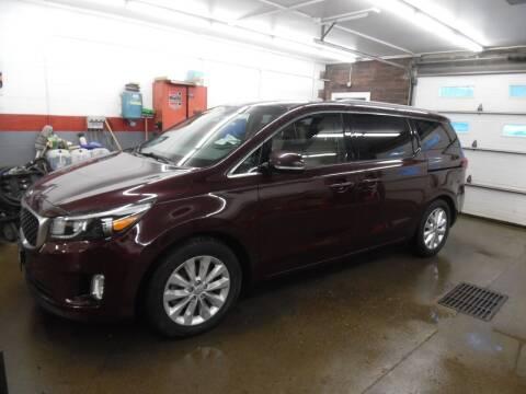 2015 Kia Sedona for sale at East Barre Auto Sales, LLC in East Barre VT