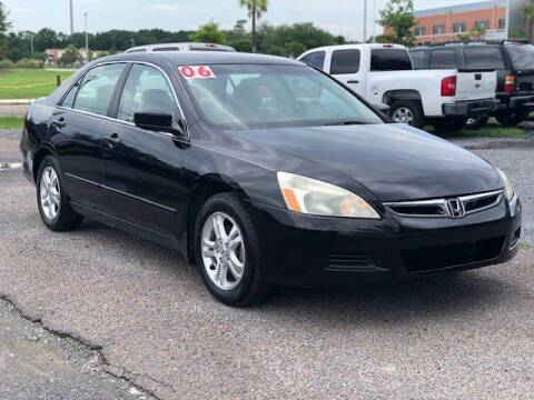 2006 Honda Accord for sale at Harry's Auto Sales, LLC in Goose Creek SC