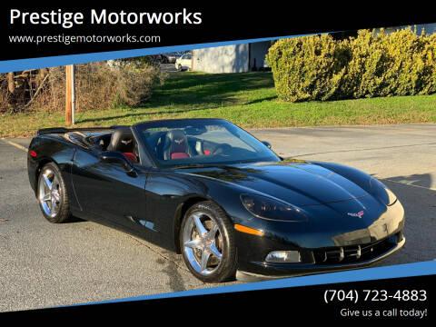 2011 Chevrolet Corvette for sale at Prestige Motorworks in Concord NC