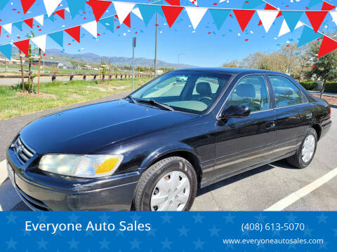 2001 Toyota Camry for sale at Everyone Auto Sales in Santa Clara CA