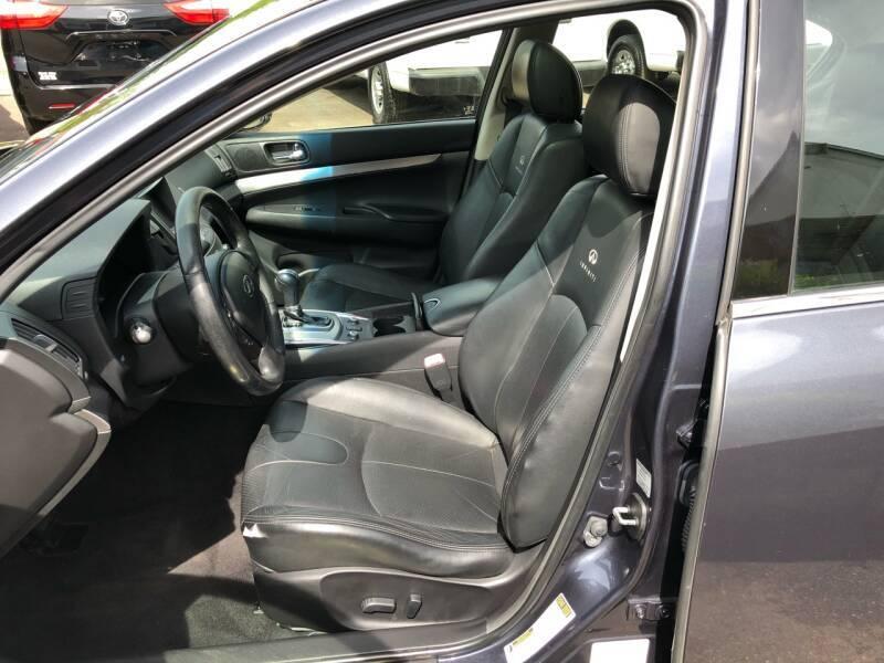 2012 INFINITI G25 Sedan 4dr Car