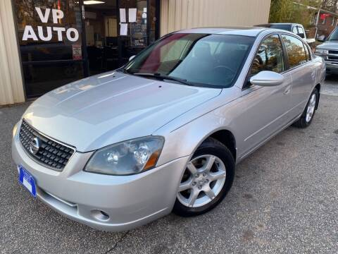 2006 Nissan Altima for sale at VP Auto in Greenville SC