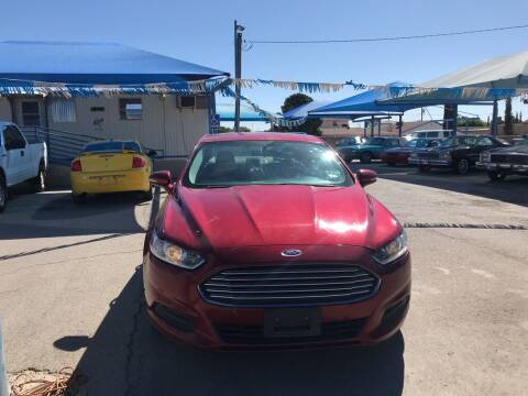 2016 Ford Fusion for sale at Autos Montes in Socorro TX