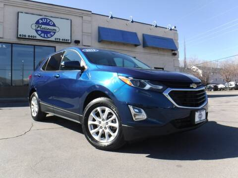 2019 Chevrolet Equinox for sale at Platinum Auto Sales in Provo UT
