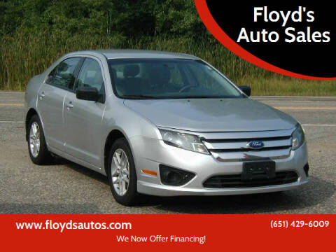 2012 Ford Fusion for sale at Floyd's Auto Sales in Stillwater MN