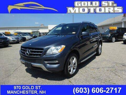 2013 Mercedes-Benz M-Class for sale at Gold St. Motors in Manchester NH