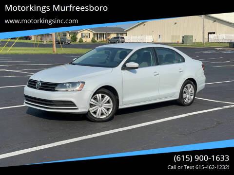 2017 Volkswagen Jetta for sale at Motorkings Murfreesboro in Murfreesboro TN