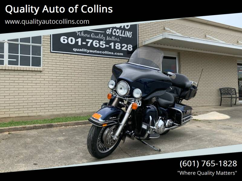 2012 Harley-Davidson Ultra Classic for sale at Quality Auto of Collins in Collins MS