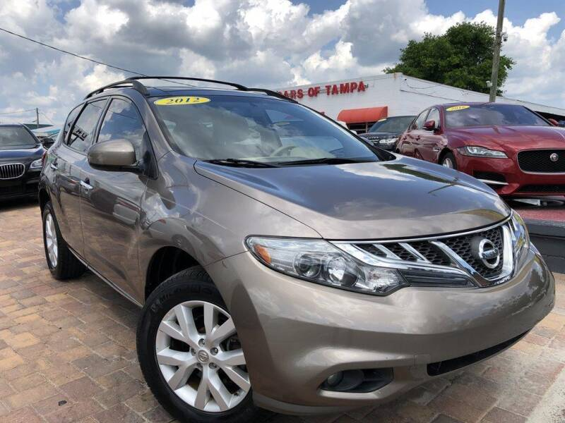 2012 Nissan Murano for sale at Cars of Tampa in Tampa FL