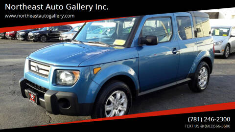 2008 Honda Element for sale at Northeast Auto Gallery Inc. in Wakefield Ma MA