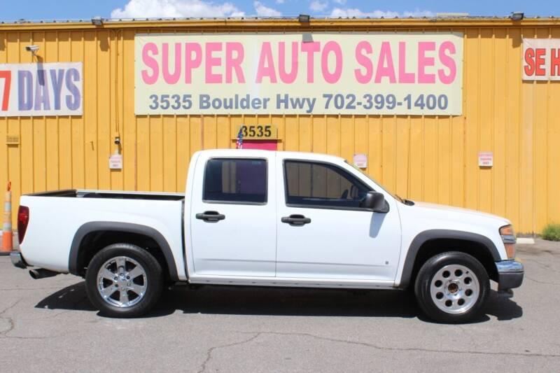 2006 Chevrolet Colorado for sale at Super Auto Sales in Las Vegas NV
