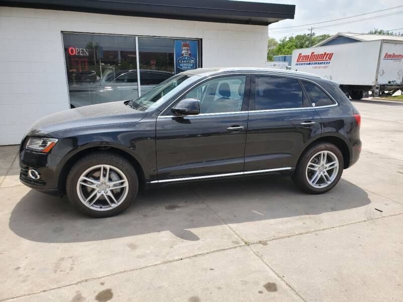 2016 Audi Q5 for sale at GOOD NEWS AUTO SALES in Fargo ND