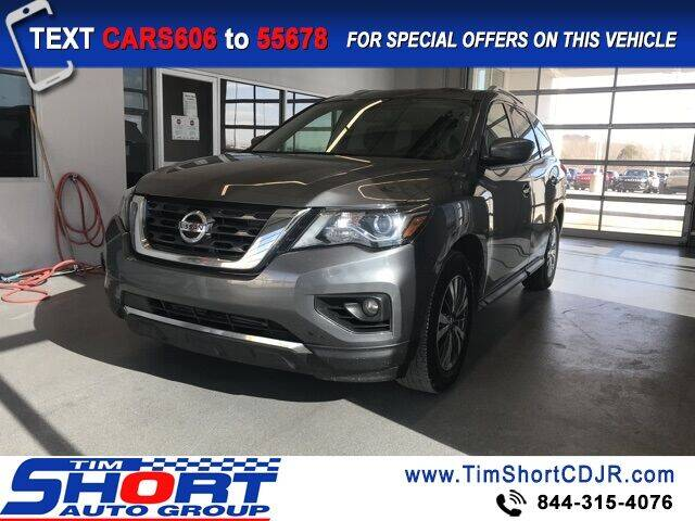 2019 Nissan Pathfinder for sale at Tim Short Chrysler in Morehead KY